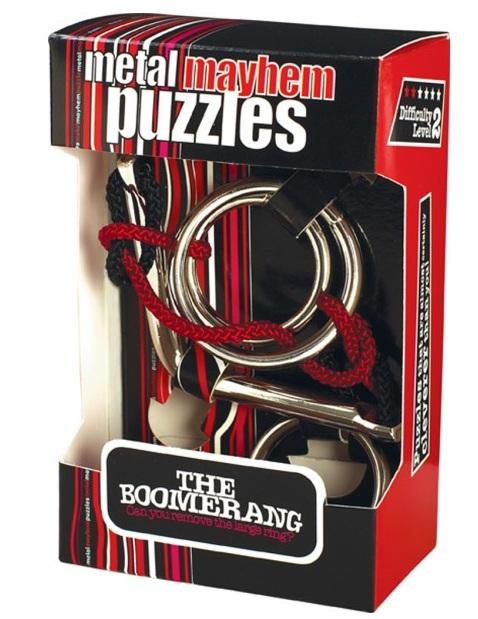 Boomerang Cast Metal PuzzleBoomerang Cast