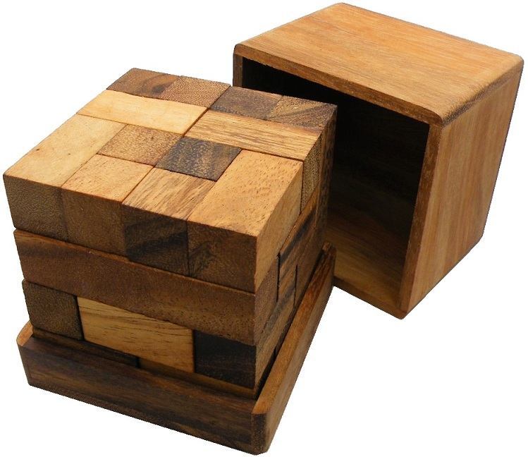 Wooden Cube Puzzle Solution | Car Interior Design