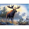 Northwoods Moose - 1000 Pieces Jigsaw Puzzle, Hautman Brothers By Buffalo Games