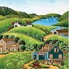 To the Barns - 1000 Pieces Jigsaw Puzzle By Buffalo Games