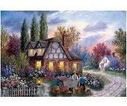 Flower Vendor - 1000 Pieces Jigsaw Puzzle By Buffalo Games