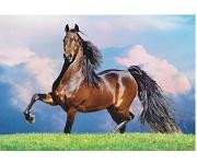 Bay Stallion by Mark Barrett - 500 Pieces Jigsaw Puzzle By Buffalo Games