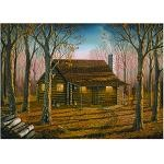 Woodland Cabin - 500 Pieces Jigsaw Puzzle By Buffalo Games