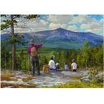 Family Picnic - 500 Pieces Jigsaw Puzzle By Buffalo Games