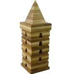 Beads Pagoda Starter - Rotation Tower wooden Puzzle