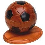 Soccer Ball 3D Jigsaw Wooden Puzzle With Sports Trivia Cards