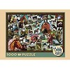 Vintage Horses - 1000 Pieces Jigsaw Puzzle By Cobble Hill