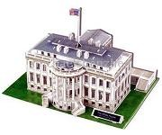White House 3D Jigsaw Puzzle 64 Pieces