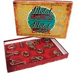Metal Madness - 12 Metal Puzzles Gift Set