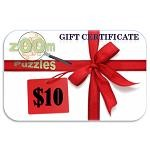 $10 Zoom Puzzles Gift Certificate