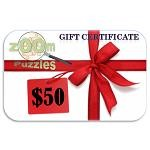 $50 Zoom Puzzles Gift Certificate