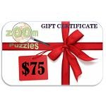 $75 Zoom Puzzles Gift Certificate