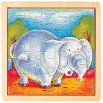 Elephant - Jigsaw 21pc Wooden Puzzle