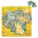 Elephant Family - Jigsaw 21pc Wooden Puzzle