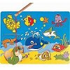 Ocean Life - Wooden Magnetic Fishing Puzzle Play