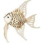 Angel Fish - 3D Jigsaw Woodcraft Kit Wooden Puzzle