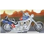 Motorcycle - Illuminated 3D Jigsaw Woodcraft Kit Wooden Puzzle