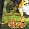 Snake - Illuminated 3D Jigsaw Woodcraft Kit Wooden Puzzle