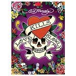 Ed Hardy: Love Kills Slowly - 500 Pieces Jigsaw Puzzle By Ravensburger