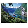 Norwegian Fjord - 1000 Pieces Jigsaw Puzzle By Ravensburger