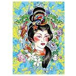Ed Hardy: Geisha - 1000 Pieces Jigsaw Puzzle By Ravensburger