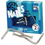 Nail Jail - Metal Nails puzzle Disentanglement