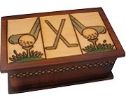 Golf - Secret Wooden Puzzle Box