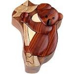 Koala Bear - Secret Wooden Puzzle Box