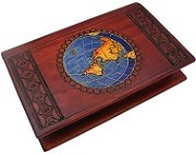 World Travel Book - Secret Wooden Puzzle Box