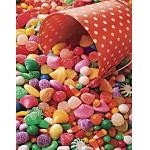 Candy Kaleidoscope - 400 Pieces Jigsaw Puzzle by Springbok