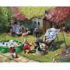 Grandpa and Kids - 1000 Pieces Jigsaw Puzzle By White Mountain