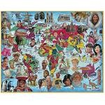 Around The World - 1000 Pieces Jigsaw Puzzle By White Mountain
