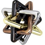 EZ Unlink - Cast Metal Puzzle Brain Teaser