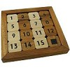 Slide Fifteen - Brain Teaser Wooden Puzzle