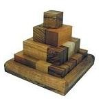 Pagoda Pyramid (Large) Wooden Puzzle