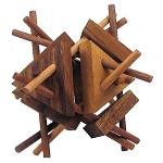 Spiky - 3D Wooden Brain Teaser Puzzle