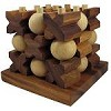 Tic Tac Toe 3D (HUGE) - Strategy Wooden Game