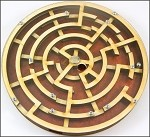 Labyrinth - Wooden Brain Teaser Puzzle / Game